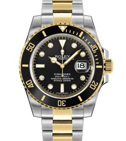Rolex Submariner 116613LN Hombre 904L Acero Inoxidable Oystersteel 40MM
