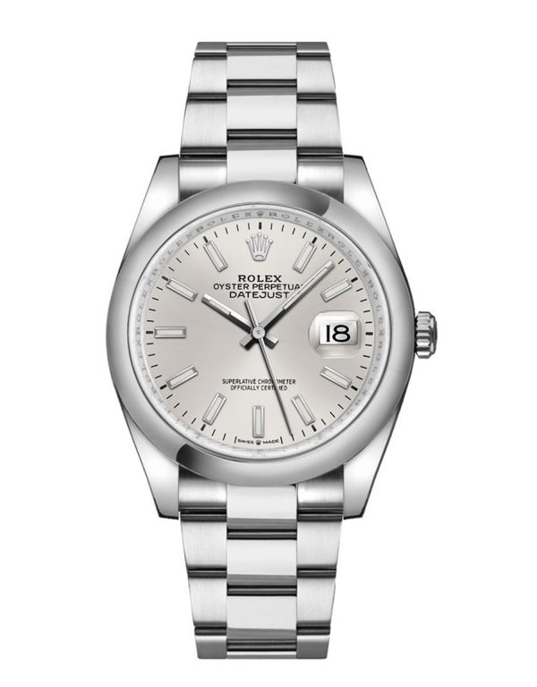 Rolex Datejust 126200 Hombres Oystersteel Silver Dial 36MM