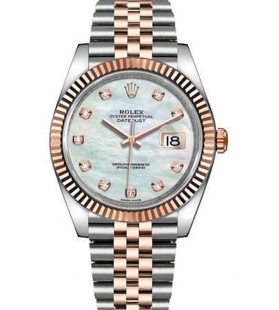 Rolex Datejust 126331 Men Bisel Giratorio Bidireccional 41MM