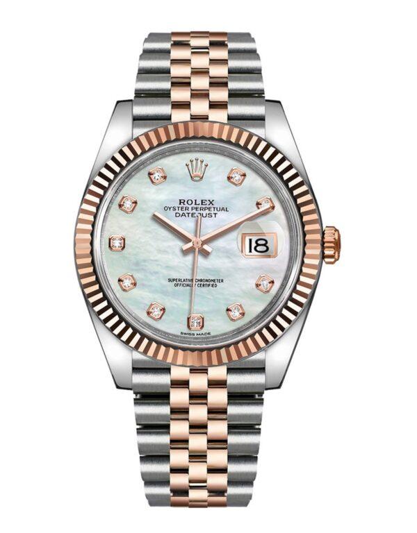 Rolex Datejust 126331 Men Bisel Giratorio Bidireccional 41MM