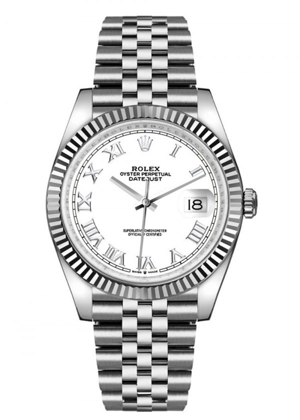 Rolex Datejust 126234 Hombres 904L Acero inoxidable Oystersteel 36MM