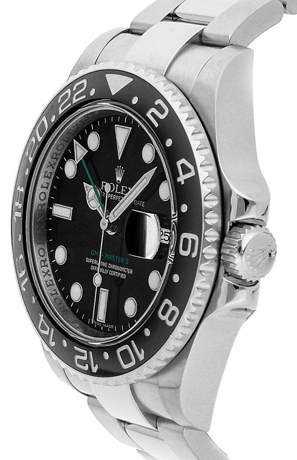 Rolex GMT-Master 116710LN Hombre 904L Acero Inoxidable Oystersteel 40MM