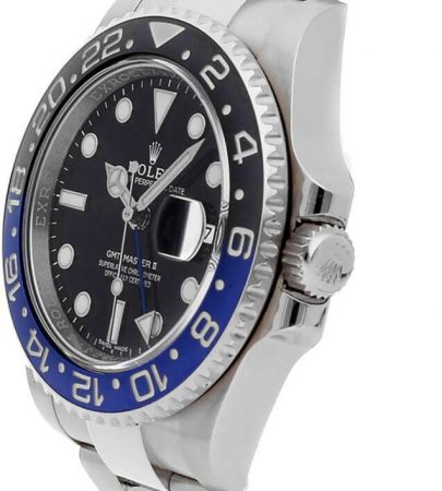 Rolex GMT-Master II 116710BLNR Hombre 904L Acero Inoxidable Oystersteel 40MM