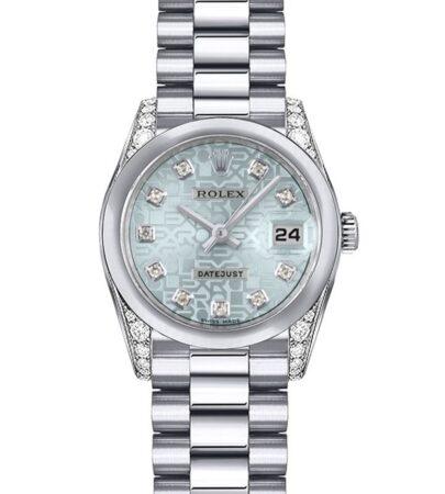 Rolex Datejust 179296 Mujer Platinum 26MM