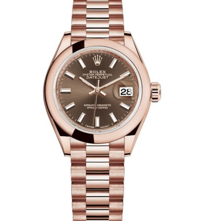 Rolex Datejust 279165 Lady Oro Everose de 18k 28MM