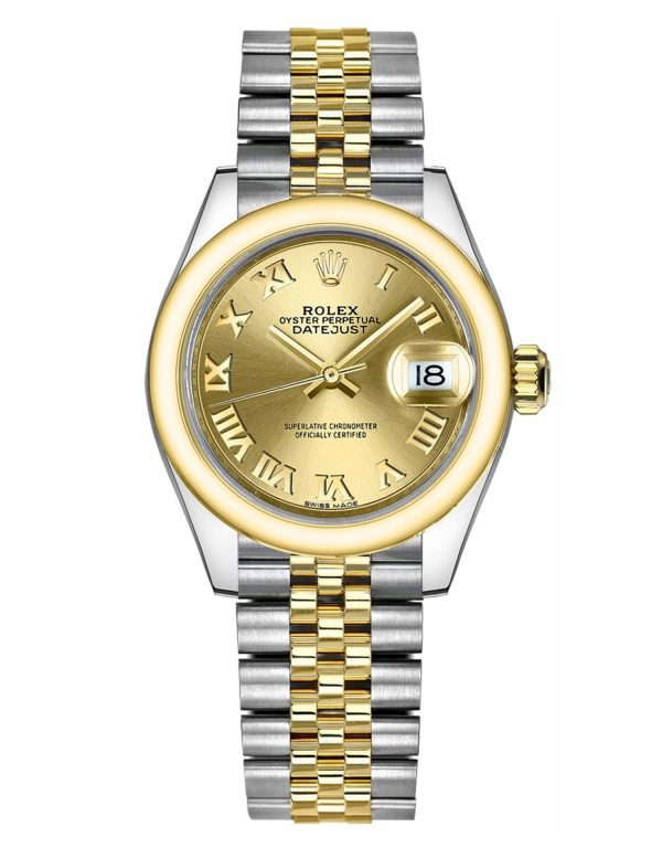 Rolex Datejust 279163 Mujer 904L Acero inoxidable Oystersteel 28MM