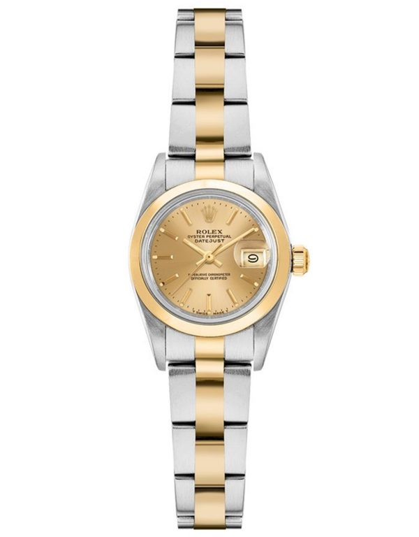 Rolex Oyster Perpetual 76183 Mujer 904L Acero Inoxidable Oystersteel 24MM