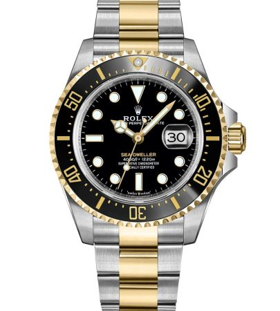Rolex Sea-Dweller 126603 Hombres 904L Acero inoxidable Oystersteel 43MM